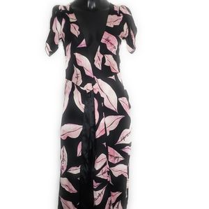 Diane von Furstenberg floral silk wrap dress 2